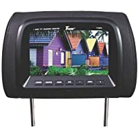 T-View Tview T726plbk 7 Dual Black Headrest Widescreen Tft Lcd Car Monitors