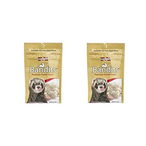 Ferret Peanut Butter (Marshall FD-386 Bandits Ferret Treats Peanut Butter, 3 Oz. (2 pack))