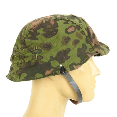 German WWII Helmet Cover with Steel Hooks Reversible, used for sale  Delivered anywhere in USA
