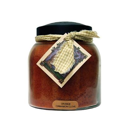 A Cheerful Giver Orange Cinnamon Clove Baby Jar Candle