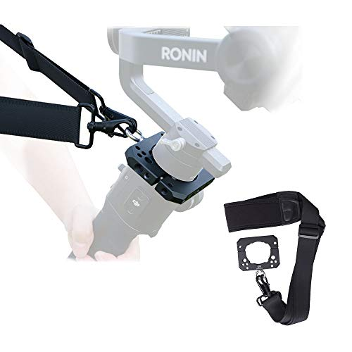DF DIGITALFOTO Spider Hang Strap Shoulder Hang Buckle Hand Release Mounting Accessories Plate Clamp Compatible for Ronin S Zhiyun Crane 2 3 axis Gimbal Setup Mouning Monitor