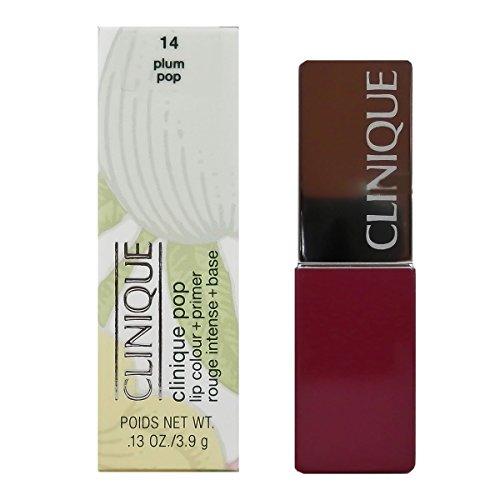 Clinique Pop Lip Colour + Primer, No. 14 Plum Pop, 0.13 Ounce