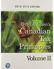 Canadian Tax Principles 2018-2019 Edition, Volume 2