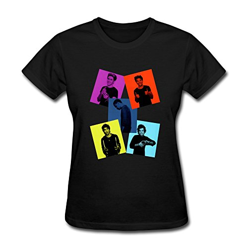 S-Kaso Women's Custom Funny 1d T-shirt X-Small Black