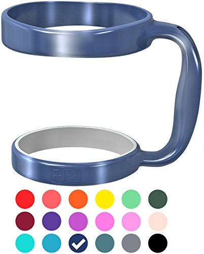 (F-32 Handle - 19 COLORS - Available For 30oz or 20oz YETI, RTIC (PREVIOUS DESIGN), OZARK TRAIL, BEAST Rambler & More Tumbler Mug - BPA FREE (30OZ, DEEP BLUE))