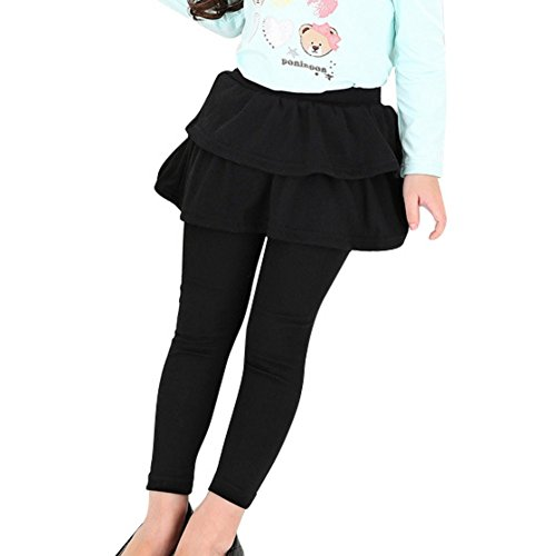 Loveble Baby Girls Cashmere Wool Warm Playing Pantskirt Render Culottes Legging Trousers (Cashmere Trousers Wool)