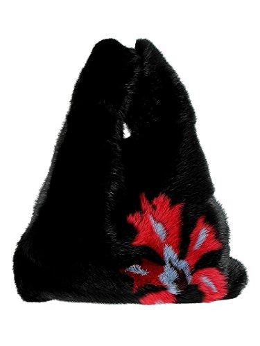 Main Femme Taille pour à Noir Unique Noir Simonetta Ravizza Sac tqXHw4T