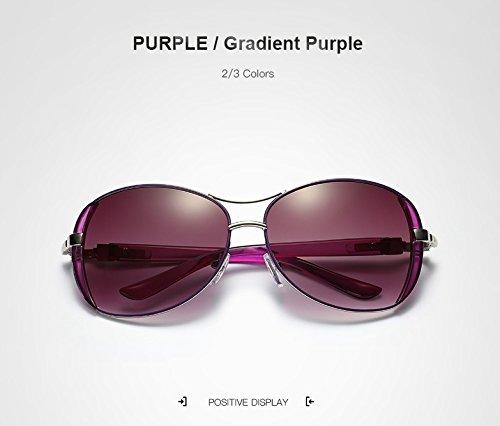 Purple pour de Marque De Luxe Yumeik Lunettes Anteojos Soleil Femmes Lunettes Soleil Purple Mujer Sol Nouvelles Femmes de élégantes de Lunettes Color A1x0gF