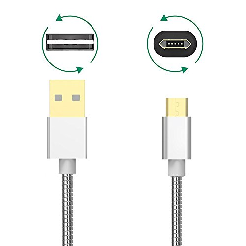 trands-double-sided-micro-usb-male-to-reversible-usb-male-metal-stretchable-data-cable-grey