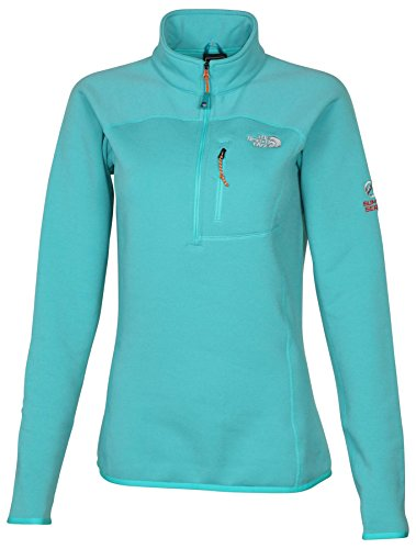 The North Face Women's Flux Power Stretch 1/4 Zip Jacket-Ion Blue-Small