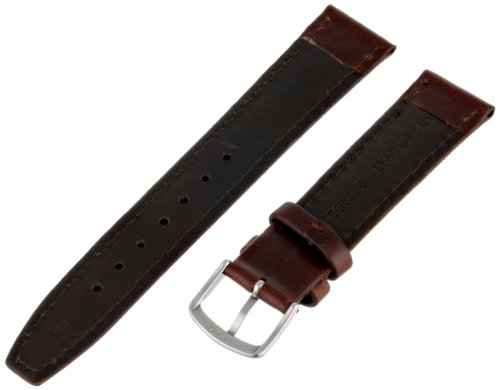 Hadley-Roma Men's MSM881RB-180 18 mm Brown Oil-Tan Leather Watch Strap by Hadley Roma (Image #1)