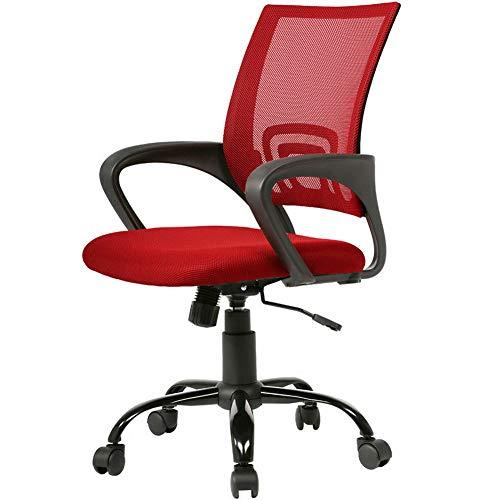 Monowi Ergonomic Mesh Computer Office Desk Midback Task Chair w/Metal Base H03 | Model CCNTCHR - 231