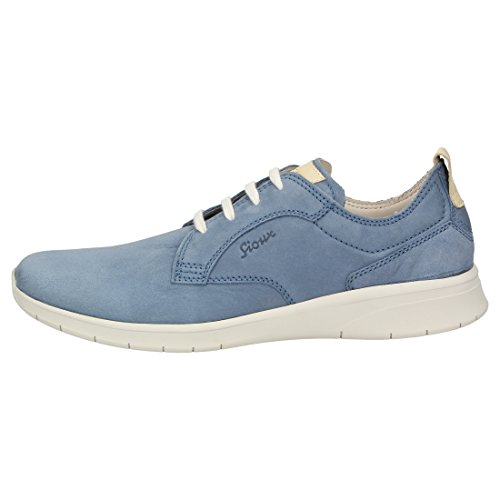 Sioux Mannen Lace Up Blue Heimito