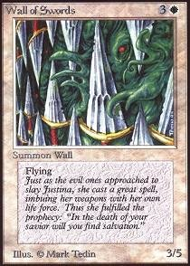 - Magic: the Gathering - Wall of Swords - Alpha