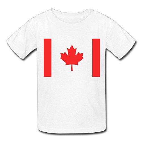 Jrw5dfg498p Maple Leaf Teenage Round Neck T-Shirt Stylish