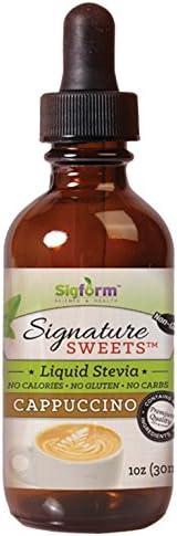 SIGFORM Capsulespuccino Stevia Digestive Enzyme Formula, 1 Oz