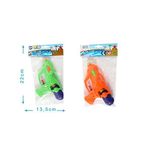 MGM–Serbatoio e pompa pistola ad acqua, mg048018, Arancione o verde 1 spesavip