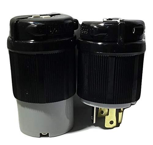 (Powertronics Connections (TM) NEMA L14-30 Plug and Connector Set)