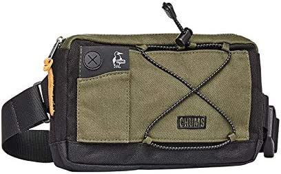 84438f6872ab Chums 14072 Roamer Reflective Waist Pack, One Size, Green/Black ...