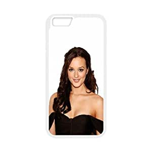 Celebrities Beautiful Leighton Meester iPhone 6 Plus 5.5 Inch Cell Phone Case White DIY TOY xxy002_897574