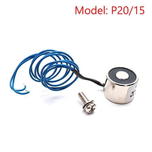 Sydien 12VDC 25N/2.5KG Electric Lifting Magnet Electromagnet Solenoid Lift Holding