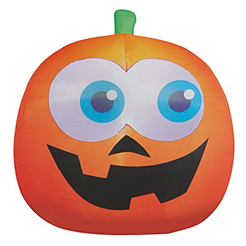 Animated Halloween Décor Inflatable Pumpkin with Moving Eyes