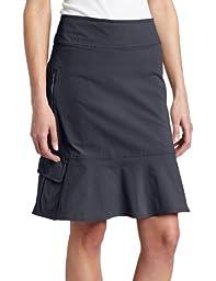 Royal Robbins Women\'s Discovery Skirt, Jet Black, 12