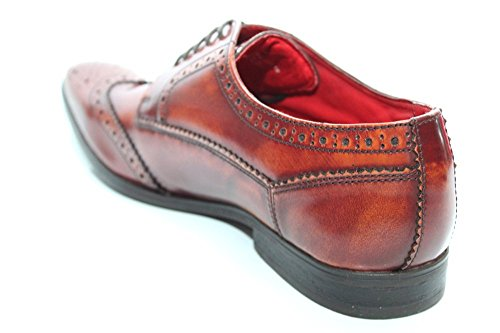 "Base London da uomo marrone ""Harold Brogues"