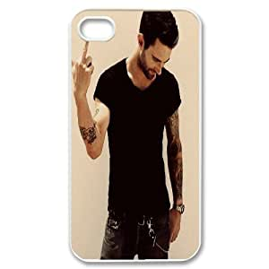 Custom High Quality WUCHAOGUI Phone case Singer Adam Levine Protective Case For Iphone 4 4S case cover - Case-6