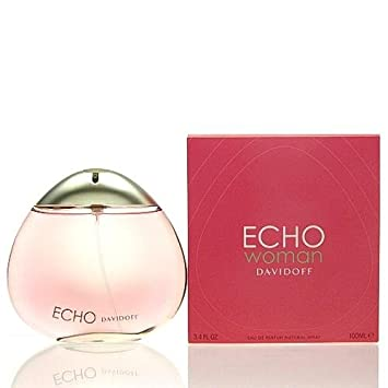 004fe55c9b Amazon.com : Echo-By-Davidoff-3.4 oz Eau De Parfum Spray-for-Women : Eau De  Parfums : Beauty
