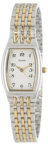 Pulsar Women's PTC403 Dress Two-Tone Stainless Steel ()