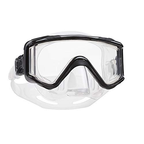 Scubapro Crystal Vu Plus Mask with Purge, Black