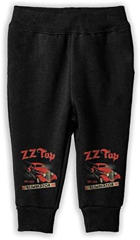Zz Top Eliminator ロングパンツ スウェットパンツ 男の子 女の子 子供 普段着 通学 気軽 吸汗 弾性 通気性 耐久性 春秋 肌触り 柔らか 下着 卒業式