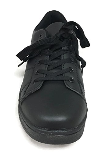 De Collectie Symbool Sneakers Fashion Low Top Lace Up Athleisure All Black