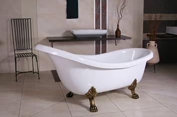 Casa Padrino Freistehende Luxus Badewanne Jugendstil Sicilia Weiß ...