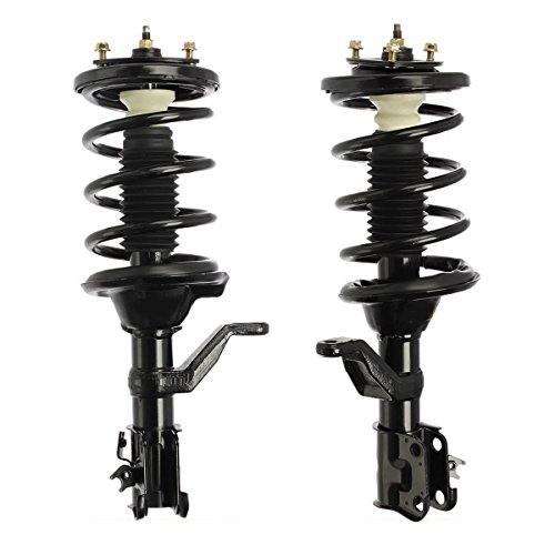(Detroit Axle - Both (2) New Front Driver & Passenger Side Complete Strut & Spring Assembly for 2003 2004 2005 2006 2007 2008 2009 2010 2011 Honda Element [No SC])