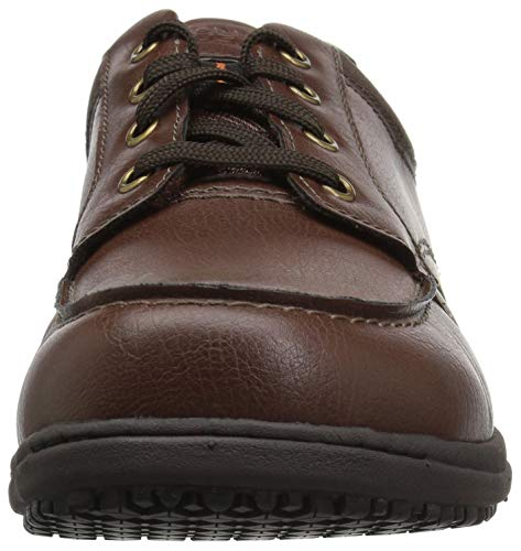 Nunn Bush Food Stefan Shoe Men's Service Brown rwzqxdwCt