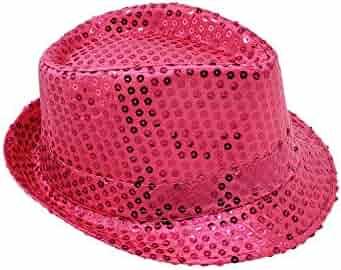 85dec59efa64d Banded Fedora HAT for Kids Trilby Gangster Panama Classic Vintage Short  Brim Style