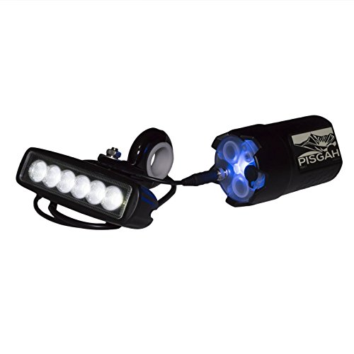 Pisgah Mk I Mountain Bike Light Kit (18W Flood Beam)