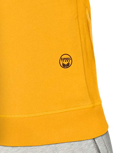 Kaporal Jaune Sonja Sweat ambre shirt Homme AfInA0rq
