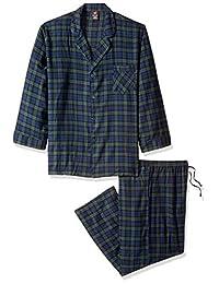Hanes Mens Men's Flannel Pajama Set