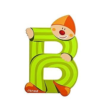 Janod Buchstaben Clown I Janod 04550 12er Pack
