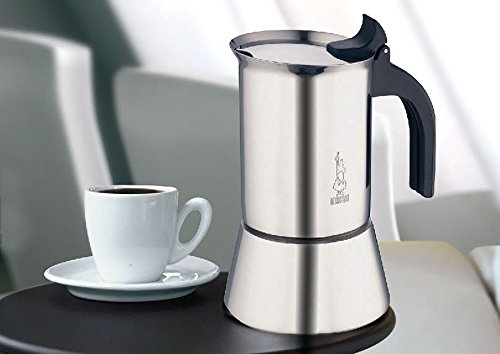 Stovetop Coffee Maker Handle : Bialetti Venus - Stove Top Espresso Maker - Stainless Steel - Import It All