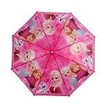 New Cartoon Pattern Anna Tangled Children Kids Umbrella Girls Pink
