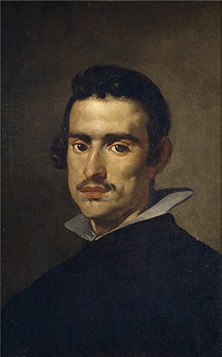 White Canopy Cobalt Blue Ball (High Quality Polyster Canvas ,the High Quality Art Decorative Prints On Canvas Of Oil Painting 'Velazquez Diego Rodriguez De Silva Y Portrait Of A Man Ca. 1623 ', 10 X)