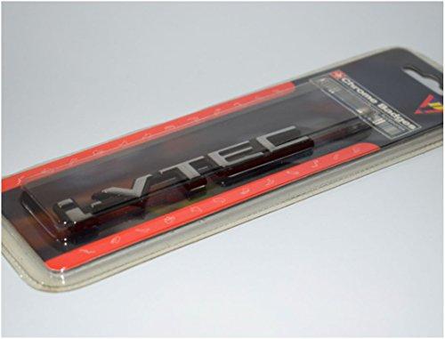 I-Vtec Ivtec Chrome 3D Car Trunk Badge Side Auto Emblem Logo Fender Adhesive Plastic Badge Size: 116Mm (Length) X 17Mm (Tall) X 5Mm (Thick) Aprx (4.1 In. X 0.7 In.) Piece SKU#1426A-BX357-195 (Plastic Trunk Emblem)