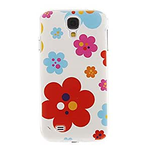 hao Six-Petals Flowers Pattern Plastic Protective Hard Back Case Cover for Samsung Galaxy S4 I9500