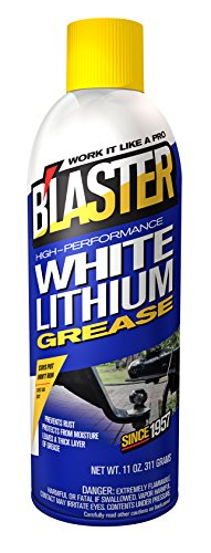 B'laster 16-LG High-Performance White Lithium Grease - 11-Ounces - Garage Door Grease