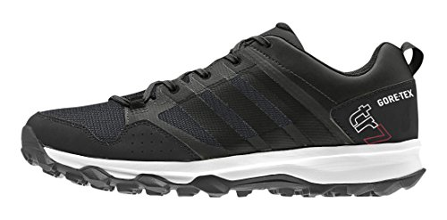 adidas Kanadia 7 Trail GTX, Herren Laufschuhe, Grau (Dark Grey/Core Black/Chalk White), 44 EU (9.5 Herren UK)
