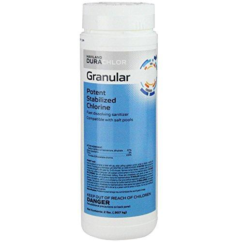 Pool Central Haviland Durachlor Potent Stabilized Granular Chlorine 2 lbs